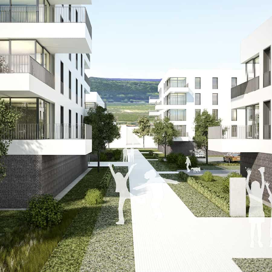 RTW Architekten BaileyPark Weg