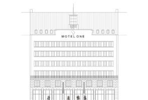RTW Architekten MotelOne Ansicht Georgstrasse 295x200