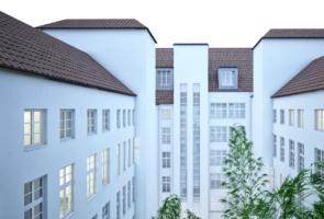 RTW Architekten MotelOne Innenhof 295x200