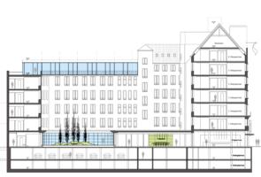 RTW Architekten MotelOne Schnitt 295x200