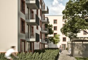 RTW Architekten Samsonschule Innenhof Neubau 295x200