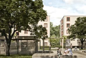 RTW Architekten Samsonschule Innenhof Neubau2 295x200