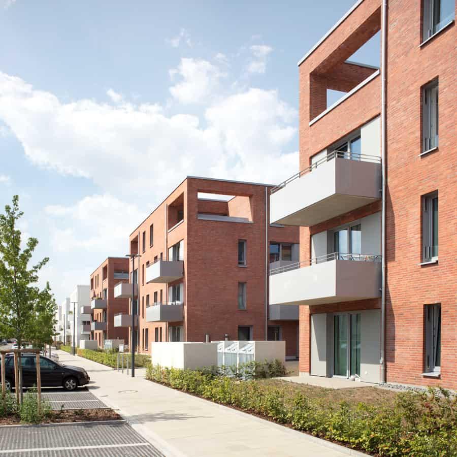 RTW Architekten Stadtvillen Front