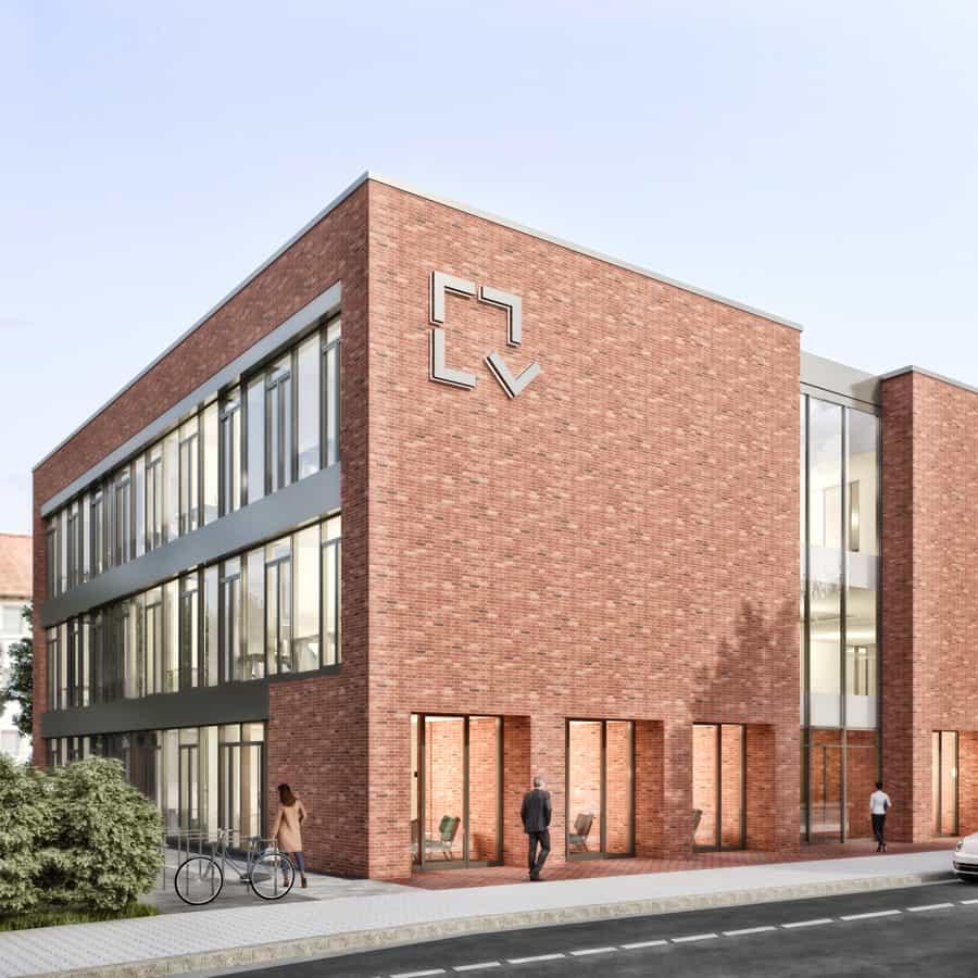RTW Architekten Volksheimstaette Ansicht