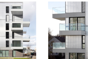RTW Architekten Wohnzwillling Balkone 295x200