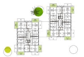 RTW Architekten Wohnzwillling Grundriss 295x200