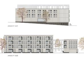 RTW Architekten Hellwinkelterrassen Ansichten Sued Ost 295x200