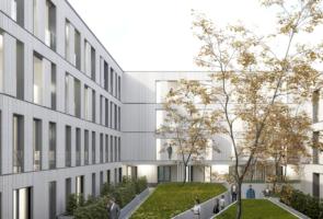 RTW Architekten Hellwinkelterrassen Innenhof 295x200