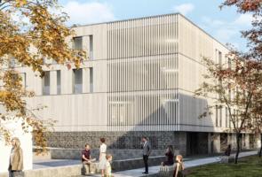 RTW Architekten Hellwinkelterrassen Park 295x200