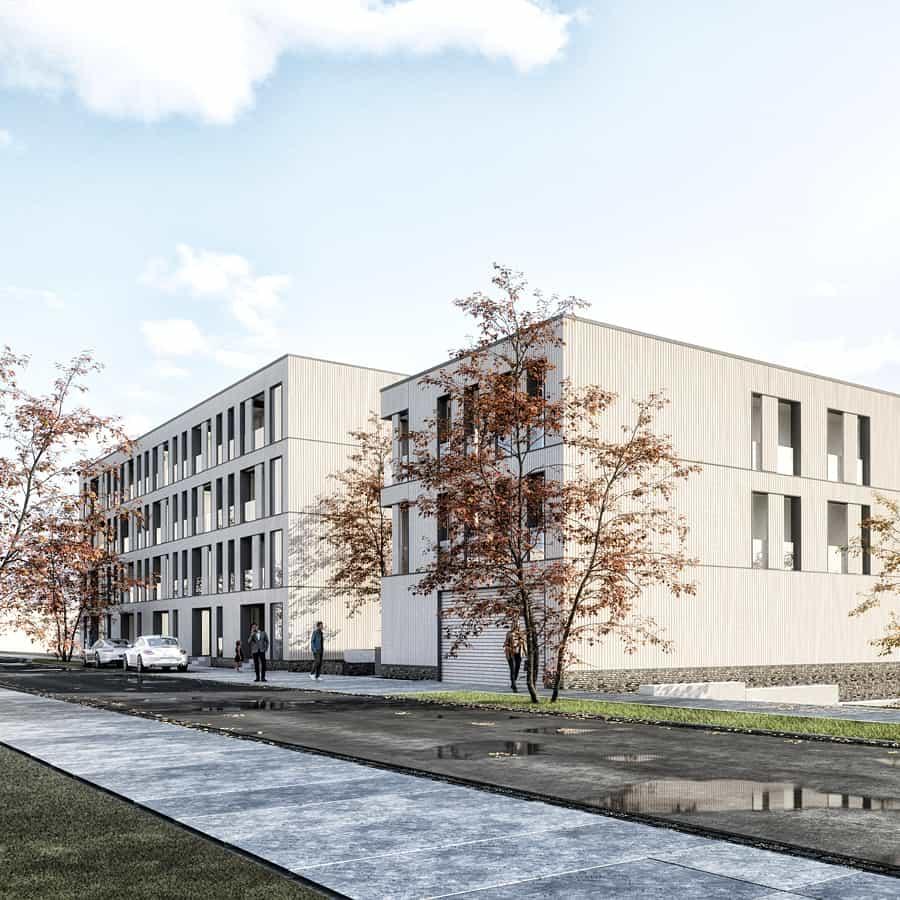 RTW Architekten Hellwinkelterrassen Strasse