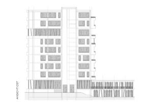 RTW Architekten KL20 Goettingen Ansicht Ost 295x200