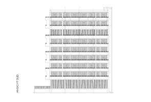 RTW Architekten KL20 Goettingen Ansicht Sued 295x200