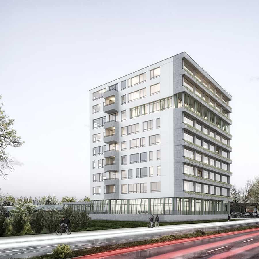 RTW Architekten KL20 Goettingen Visu Sued 1