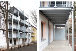 RTW Architekten Omptedastrasse Balkone 295x200