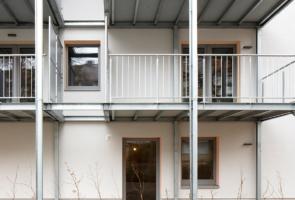 RTW Architekten Omptedastrasse Balkone Detail 295x200