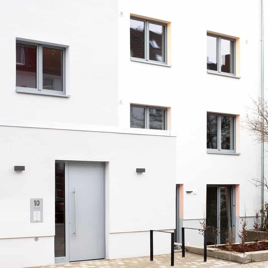 RTW Architekten Omptedastrasse Eingang 1