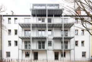 RTW Architekten Omptedastrasse Fassade hinten 295x200