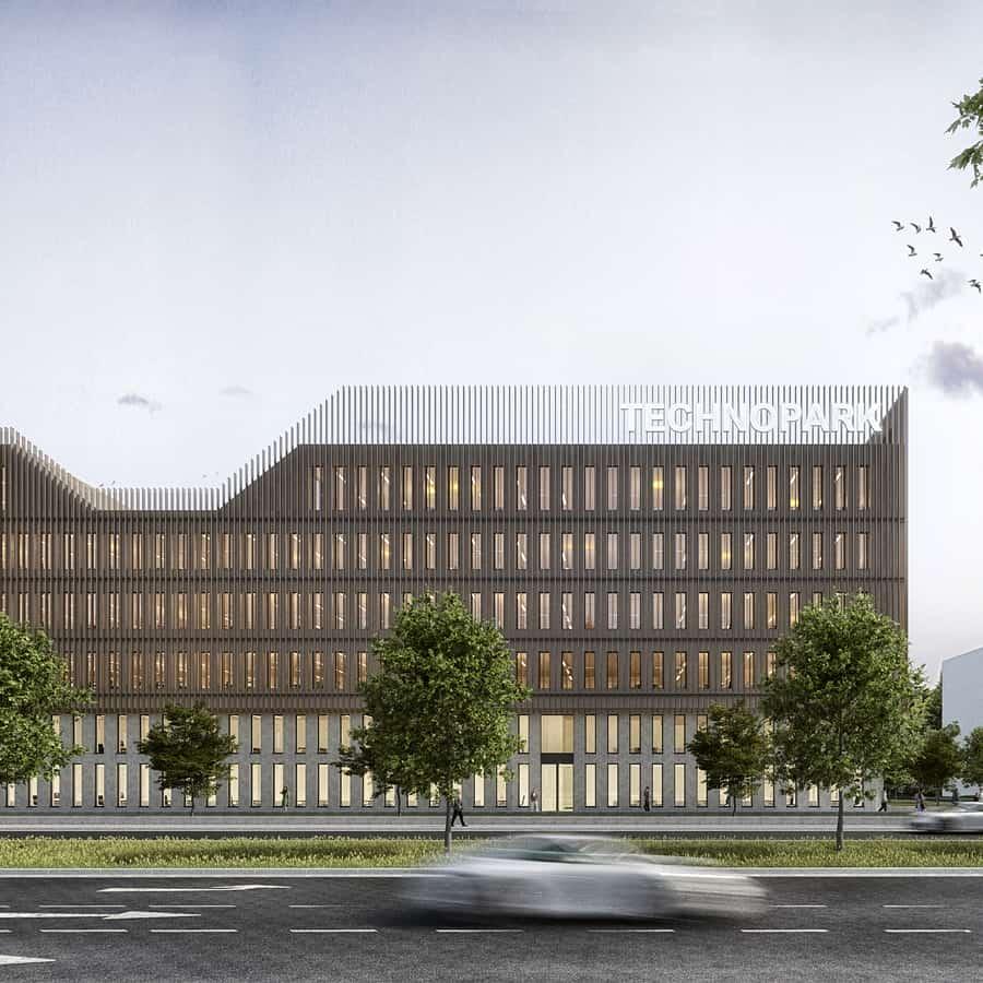 RTW Architekten Technopark Ansicht