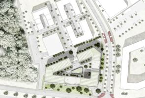 RTW Architekten Technopark Lageplan 295x200