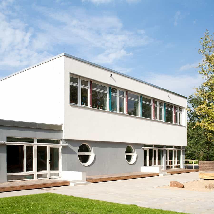 RTW Architekten AL Schule Ansicht Start