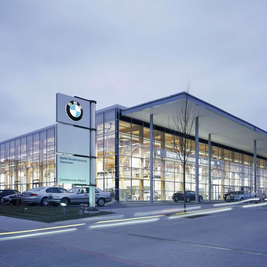 RTW Architekten BMW Expo Aussenfront