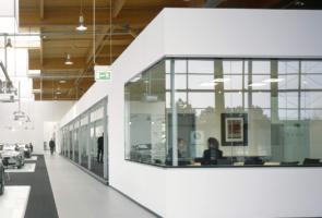 RTW Architekten BMW Expo Inneneinbau 295x200