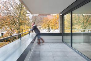 RTW Architekten Bultterrassen Aussen Balkon 295x200