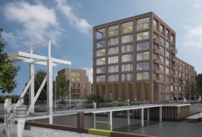 RTW Architekten Doktorsklappe Hafenseite mit Bruecke 295x200