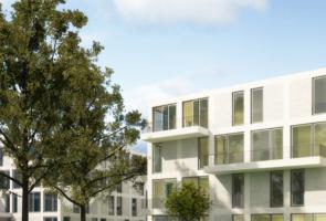 RTW Architekten Eichenpark Strassenansicht Garten1 295x200