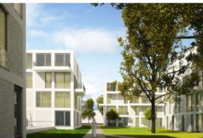 RTW Architekten Eichenpark Strassenansicht Garten2 295x200