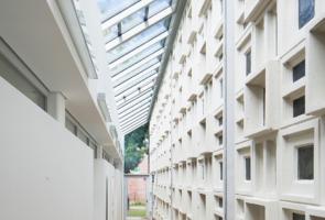 RTW Architekten Gemeindehaus GB Gang 295x200