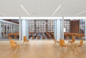 RTW Architekten Gemeindehaus GB Gemeinderaum 295x200