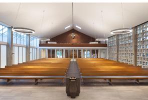 RTW Architekten Gemeindehaus GB Kirchenraum 1 295x200