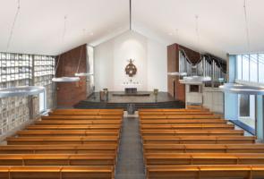 RTW Architekten Gemeindehaus GB Kirchenraum 2 295x200