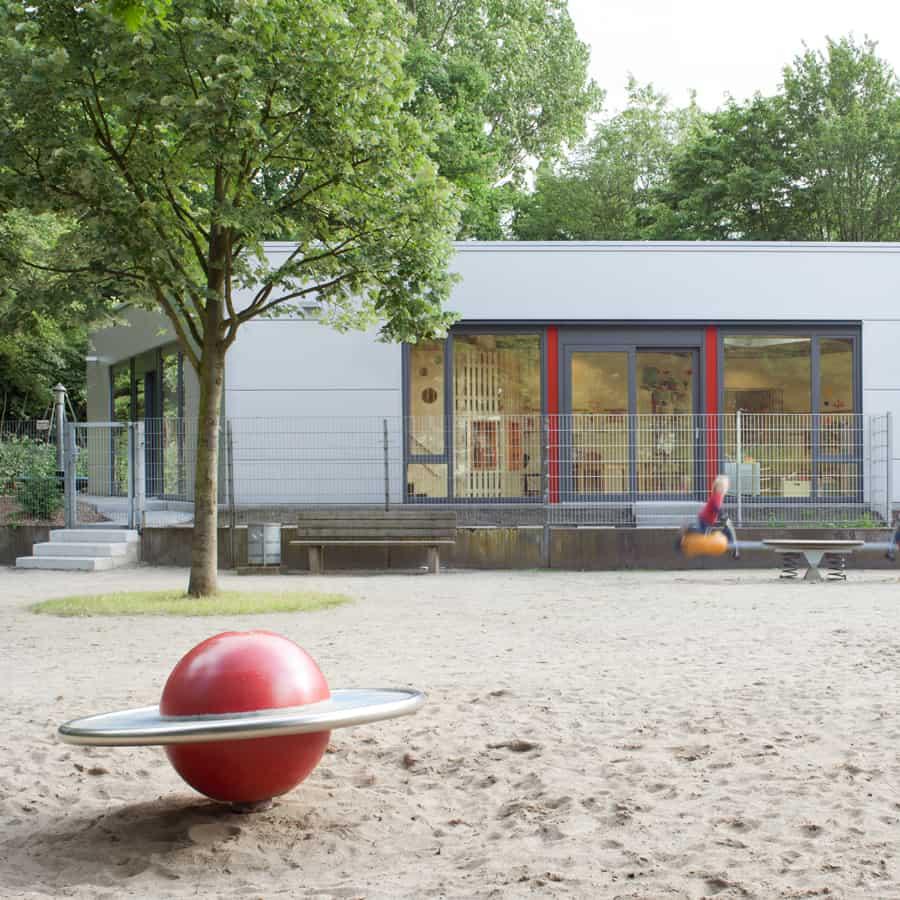 RTW Architekten Kita Waldheim Ansicht 1