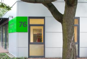 RTW Architekten Kita Waldheim Eingang 295x200