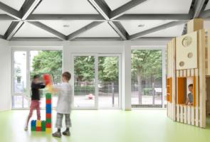 RTW Architekten Kita Waldheim Innen 295x200