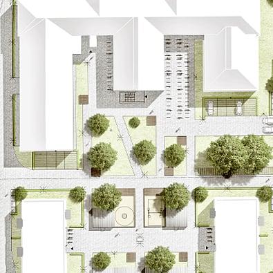 RTW Architekten Leistungen Landschaftsarchitektur