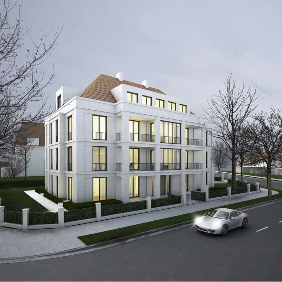 RTW Architekten Villa Zeppelin Aussen Ecke