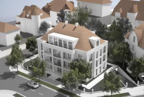 RTW Architekten Villa Zeppelin Aussen Luftbild 295x200