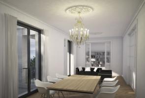 RTW Architekten Villa Zeppelin Wohnzimmer 295x200