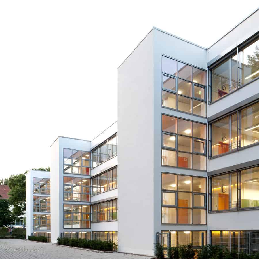 RTW Architekten WDT Humboldschule Front
