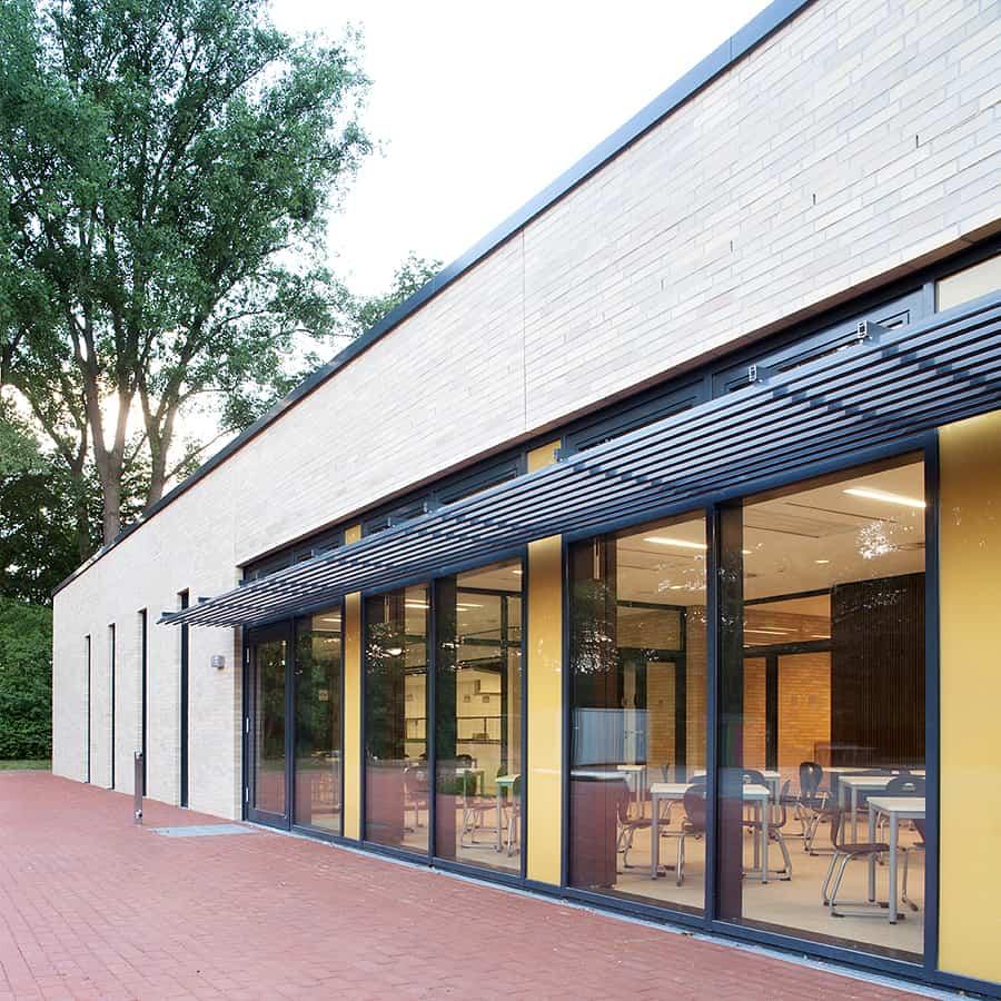 RTW Architekten WHB Schule Ansicht Start
