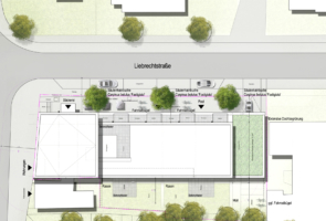 RTW Architekten Waldheim Lageplan 295x200