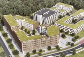RTW Architekten Technopark Luftbild 295x200